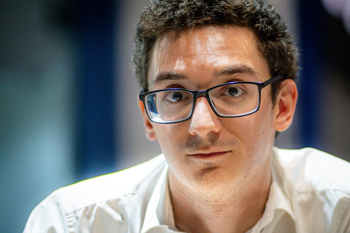test Twitter Media - Fabiano became a grandmaster shortly before his 15th birthday. In 2014, by winning the Sinquefield Cup with a stellar 3103 performance, he reached his peak rating of 2844 and became the third highest-rated player in history. https://t.co/RVD8KpyILI