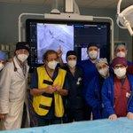 Image for the Tweet beginning: Palermo, impiantato pacemaker senza fili di