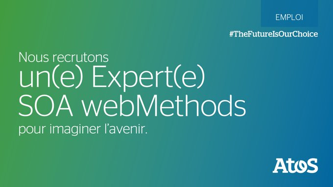 [#Job] Nous recherchons un(e) Expert(e) SOA webMethods à #Toulouse 👍 Vous maîtrisez les arc...