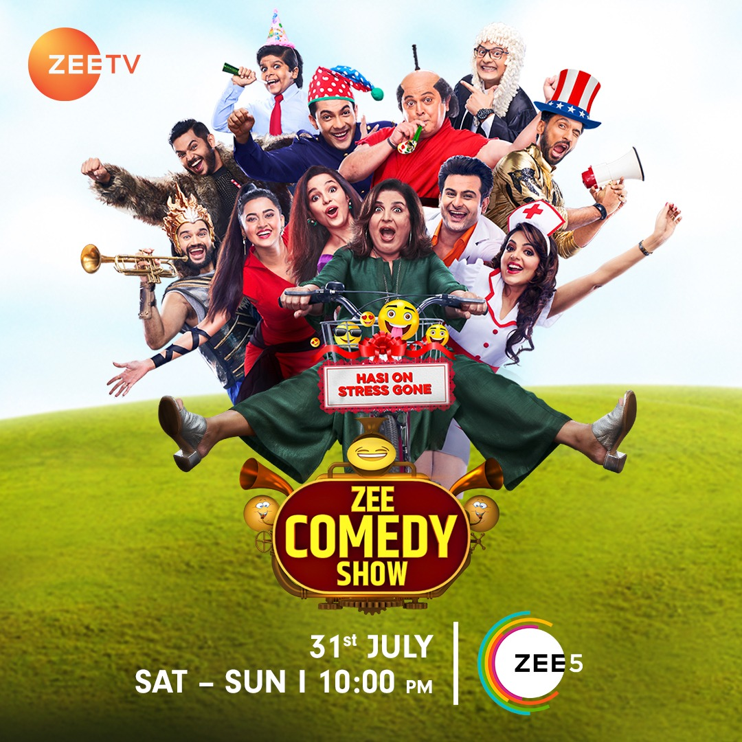 Zee Comedy Show S01E24 17th October 2021 720p HDRip 350MB Download