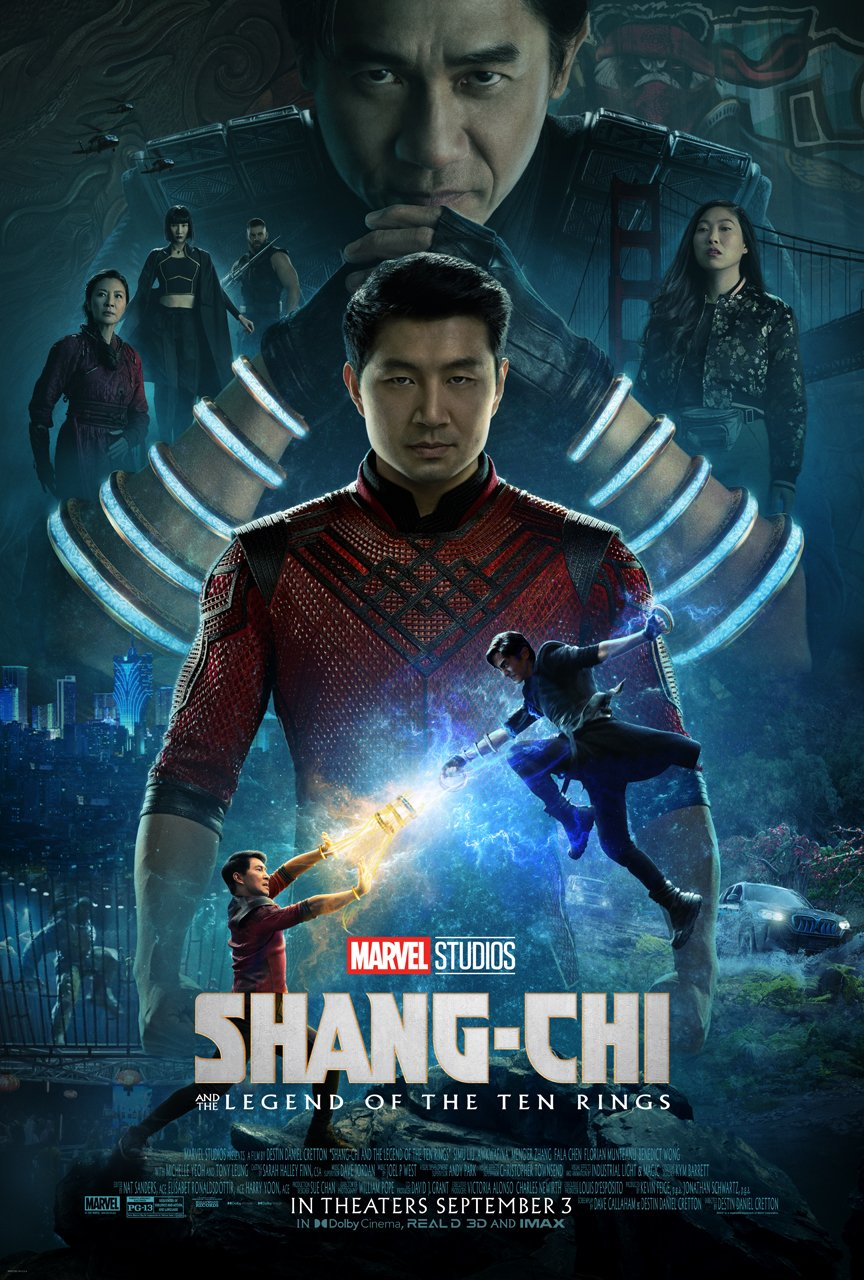 Shang-Chi And The Legend Of The Ten Rings Official Poster