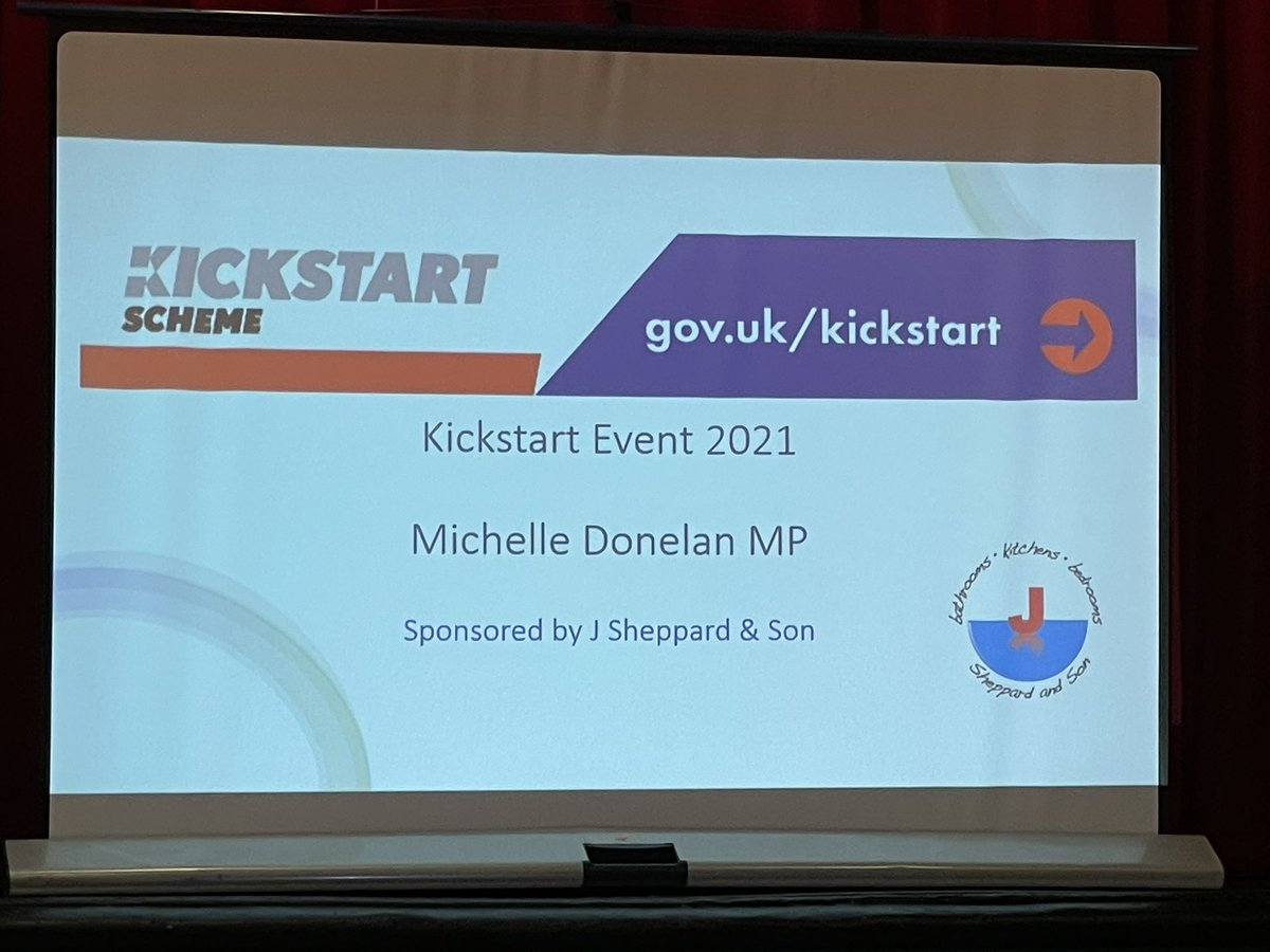 Very pleased to be at the @NeeldArts supporting @michelledonelan for the #Chippenham #kickstartevent