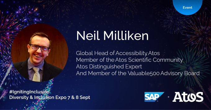 On the topic of 'A sustainability led approach to inclusion' Neil Milliken will share...