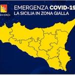 Image for the Tweet beginning: #notizie #sicilia Covid19, Sicilia prima per