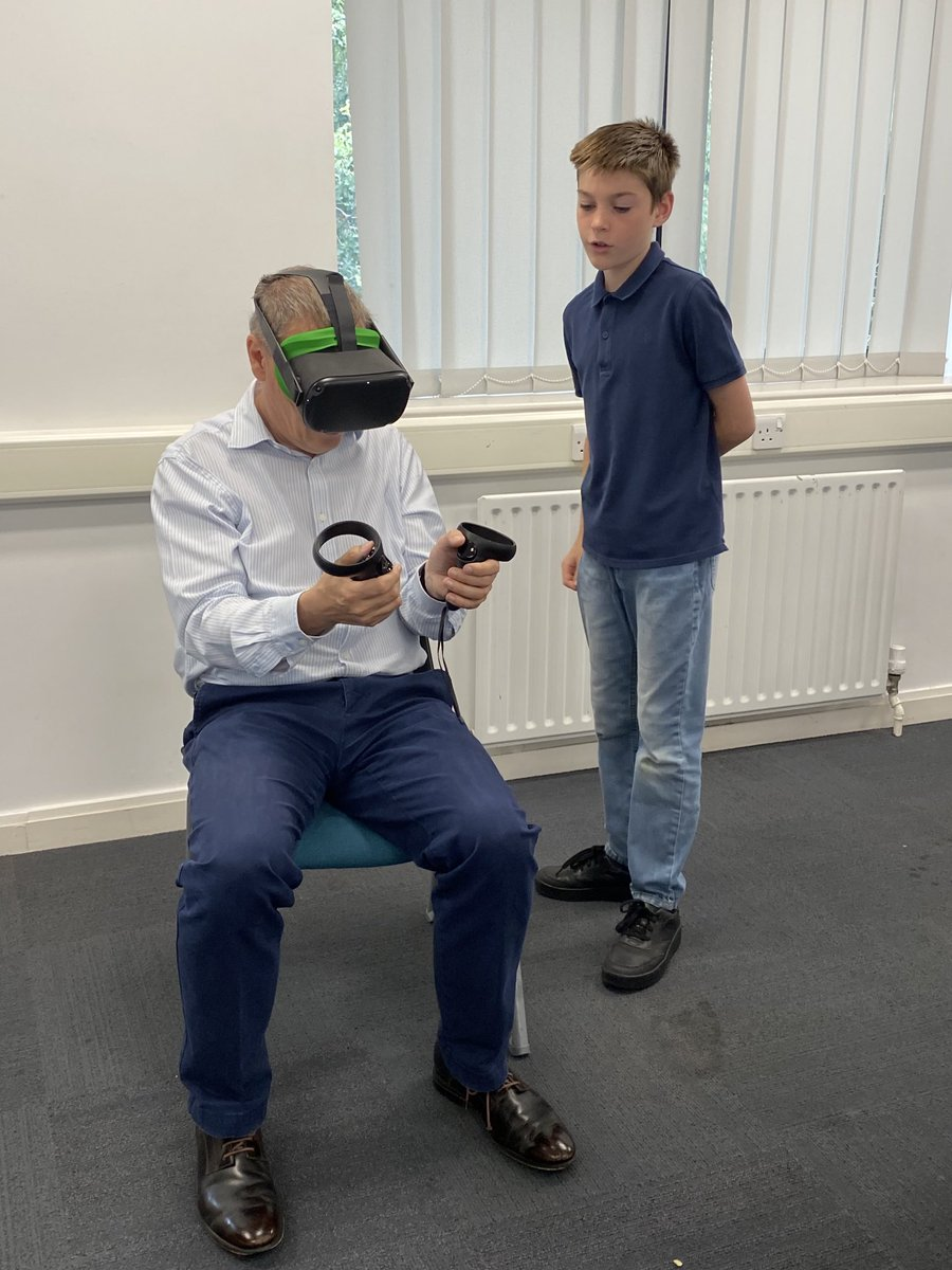 test Twitter Media - And look who has dropped in to support us! @Sjersser interacts with the scenarios ably instructed by Ethan, who is much better than the rest of us! @blueprintteach @N4LTH @SimulationPoole @FLIE_bu https://t.co/VQ5XHEaF79