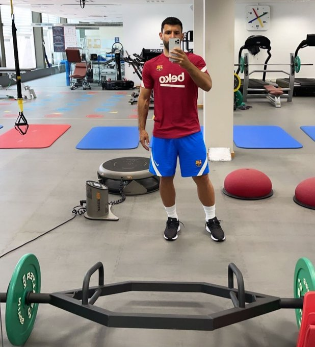 """Roy Nemer on Twitter: """"Copa America winner with Argentina, Sergio Agüero  ended his holidays early and is already training in Barcelona.… """""""