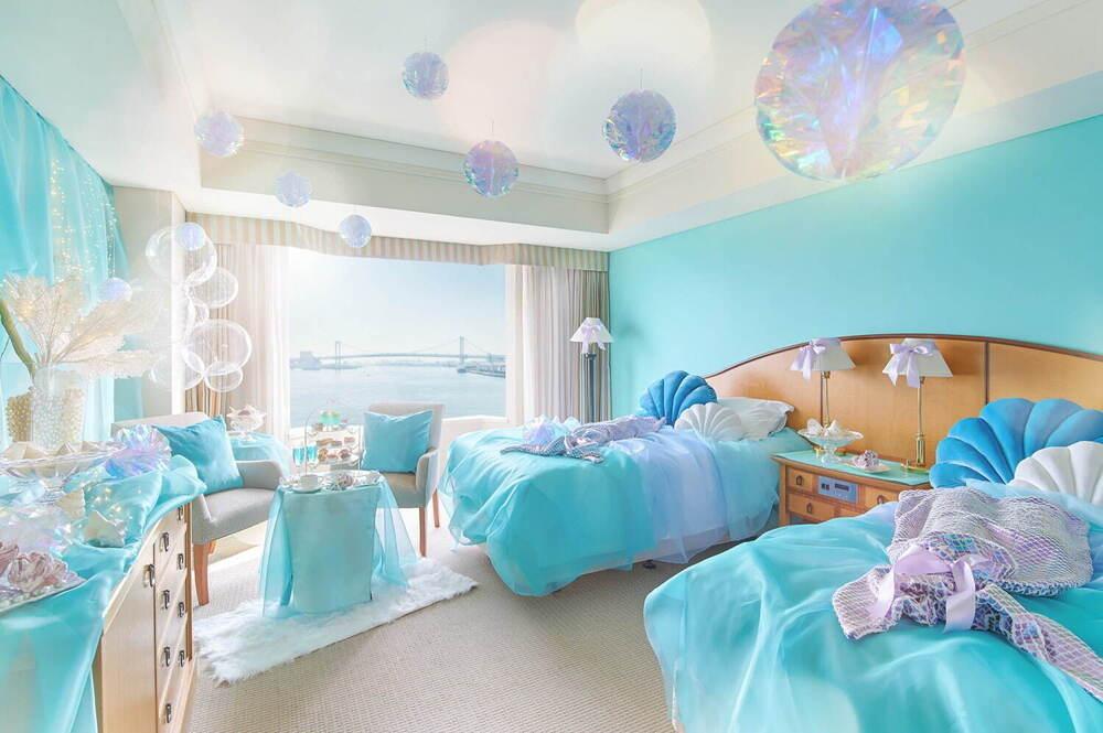 海の中と銀世界に誘う?ホテル「インターコンチネンタル 東京ベイ」のコンセプトルーム!