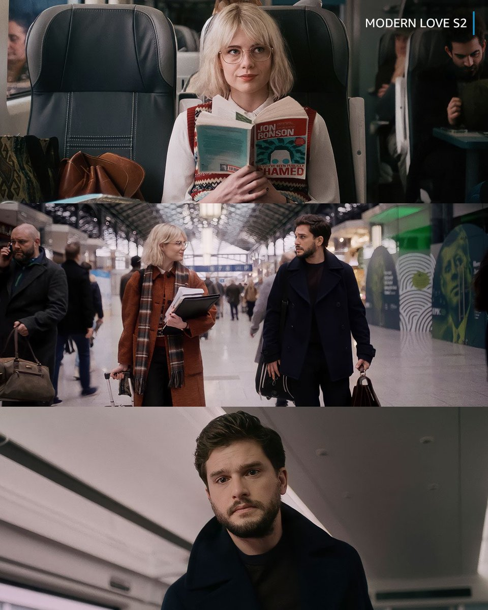 """amazon prime video IN on Twitter: """"kit harington and lucy boynton … that's  all 😍 #ModernLove season 2, august 13… """""""