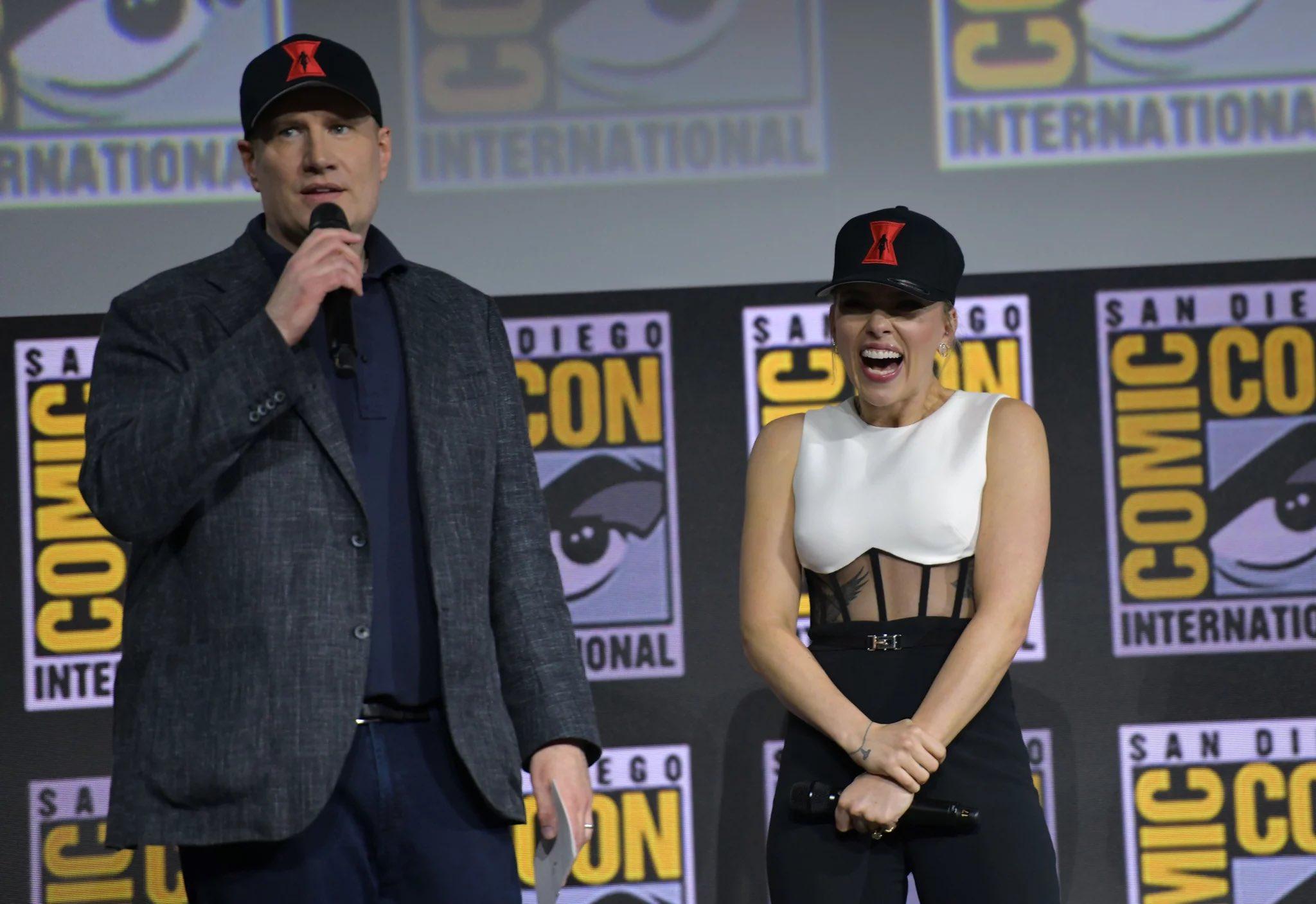 Scarlett Johansson and Feige
