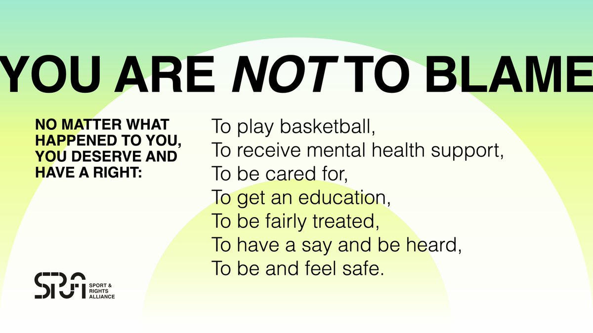 ✊✊✊ It's time for @FIBA to step up & put players first. #AthletesAgainstAbuse
