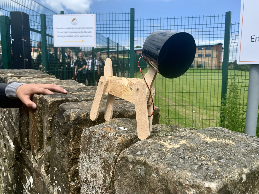 Let's just take a moment's paws to look at these snazzy dog lamps 🐶💡Before breaking up for summer, Year 9 got creative in technology and Miss Underhill managed to grab some pictures before they were unleashed into the wider Queensbury area!