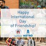 Image for the Tweet beginning: Happy #InternationalDayofFriendship! Today we'd like