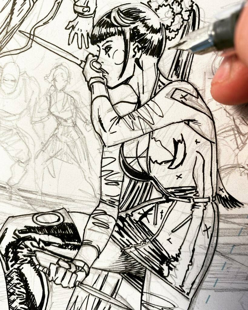 #Inking this #fan #favorite character. #PunchLine #Batman #Joker instagr.am/p/CR9QsZ4Mrfy/