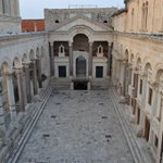Image for the Tweet beginning: Peristyle of Diocletian's Palace Split, Croatia
