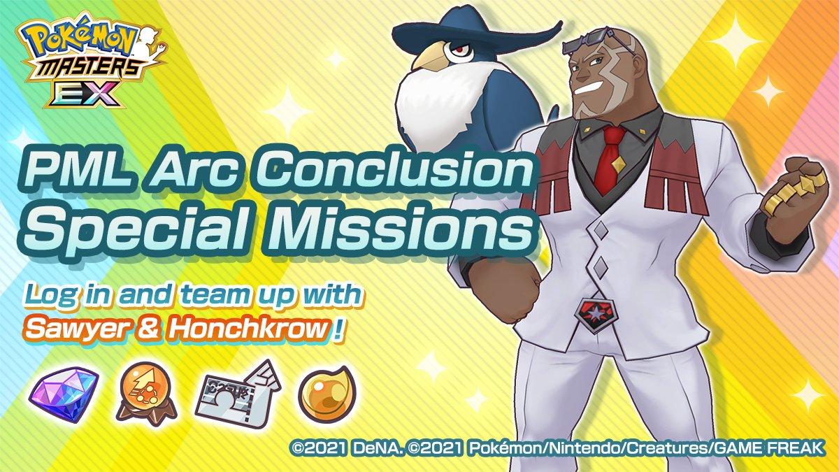 Misión especial Pokémon masters nestor