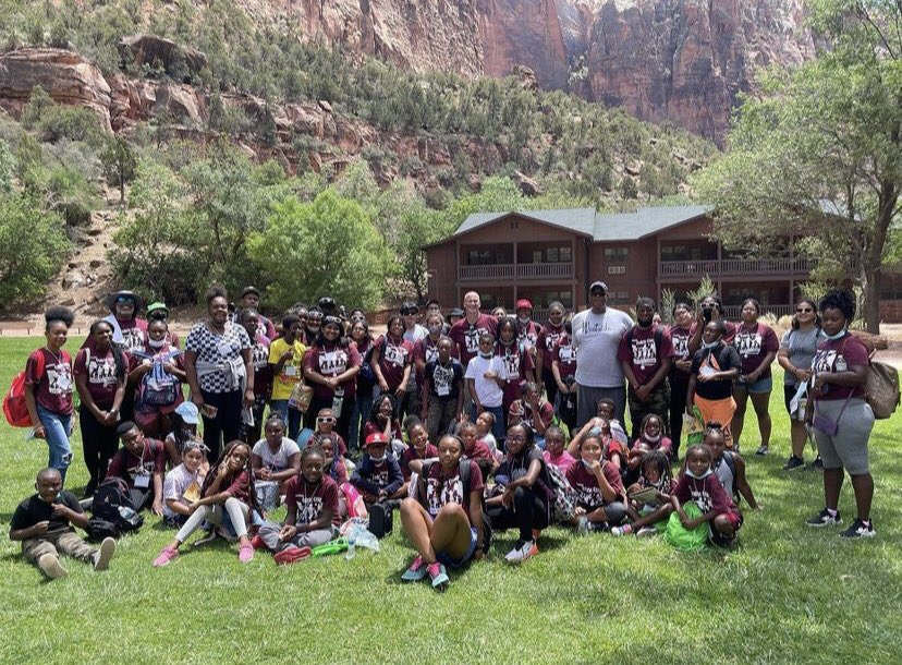 The Councilman has created this opportunity to give kids from our Ward 5 area a chance to get out of our neighborhood and explore some of the amazing national parks that they might not have been able to visit otherwise!