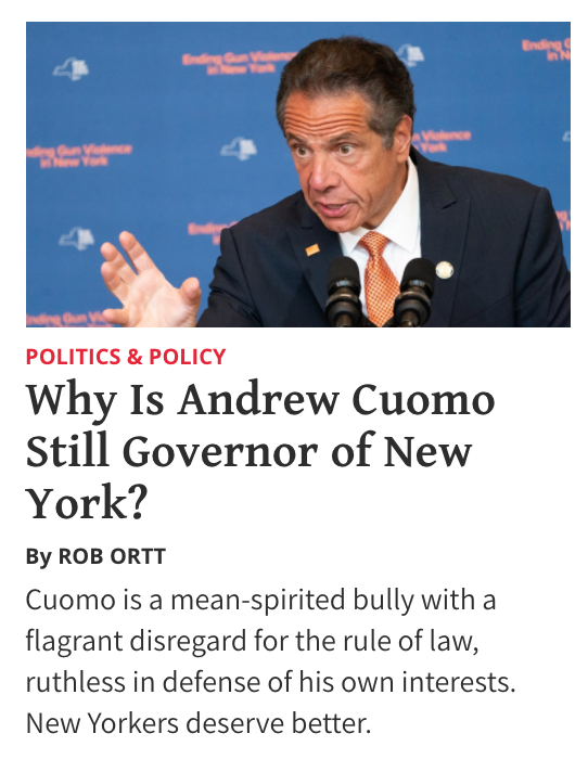 RT @nysenategop: NEW by #NYSenateGOP Leader @SenatorOrtt in @NRO ⬇️⬇️⬇️  cc @NYGovCuomo   https://t.co/lHZbXYtq9t https://t.co/XOoLBGJ2hu