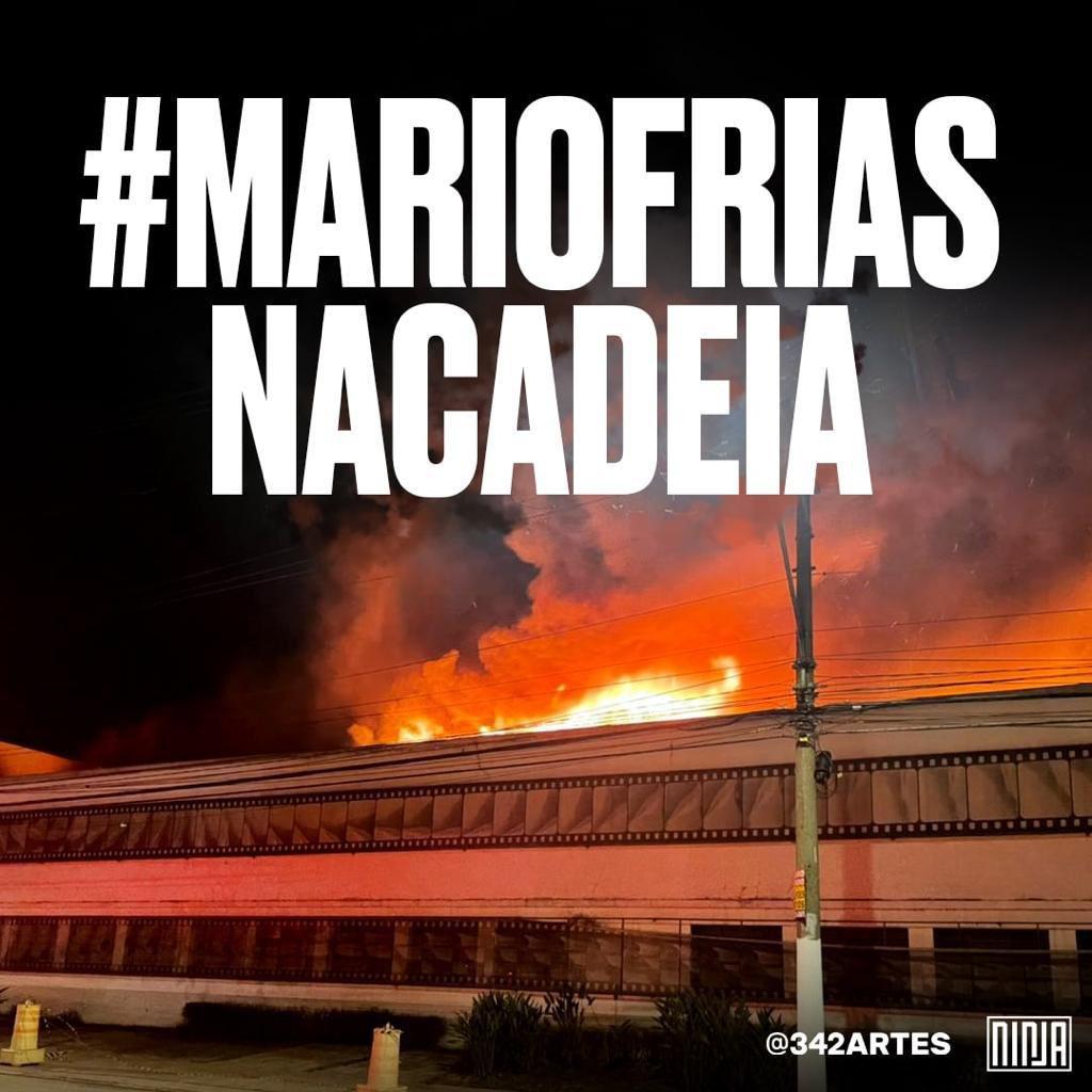 """Mídia NINJA on Twitter: """"#mariofriasnacadeia… """""""
