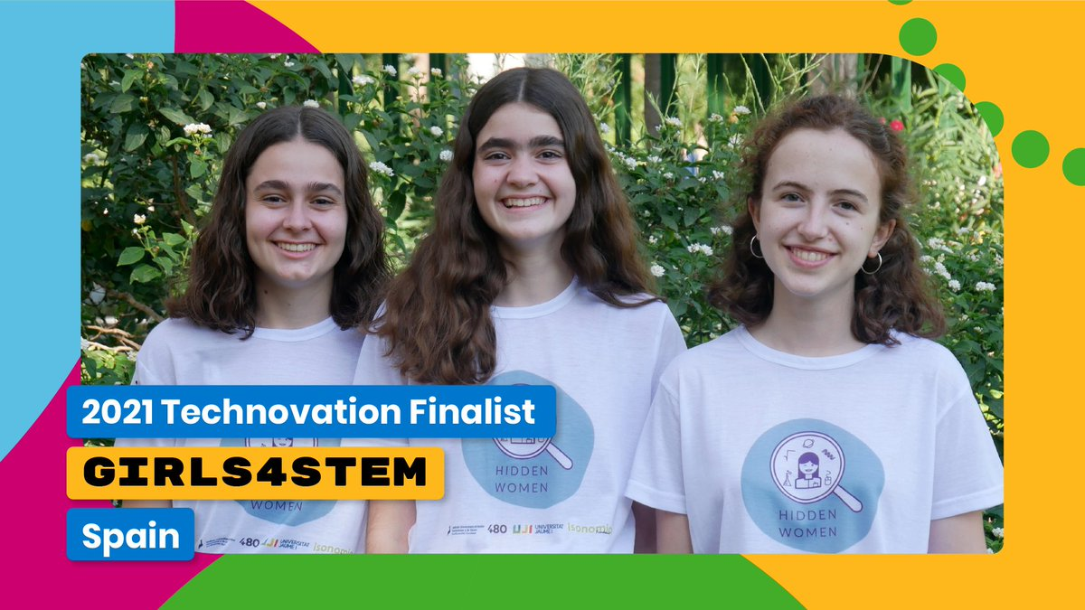 These girls are inspiring the next-gen of #WomeninSTEM with their app 'Hidden Women'! 👏   Watch them pitch their app during #WorldSummit2021 for the Grand Prize title!   🎟️ Register for free today! ⬇️ https://t.co/EDbyiGTAL8