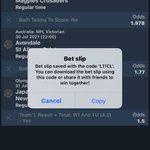 Image for the Tweet beginning: Olosho 5 odds