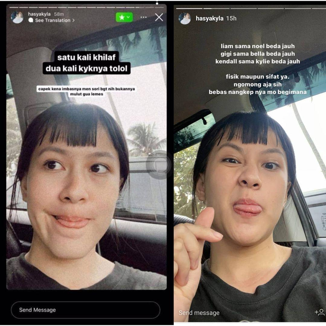postingan kakak Zara