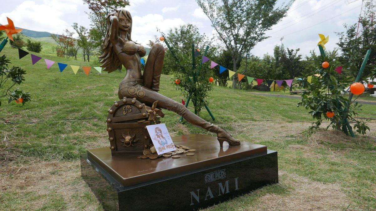 コロナ 大泉学園 銅像 ナミ セーフに関連した画像-03
