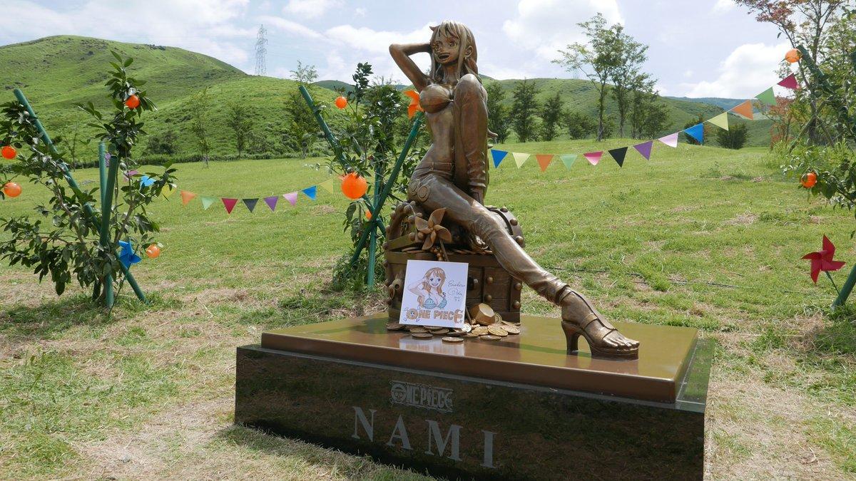 コロナ 大泉学園 銅像 ナミ セーフに関連した画像-02