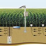 Image for the Tweet beginning: Soil moisture monitoring