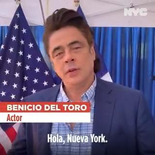 Image for the Tweet beginning: Se lo dice #BenicioDelToro: ponga