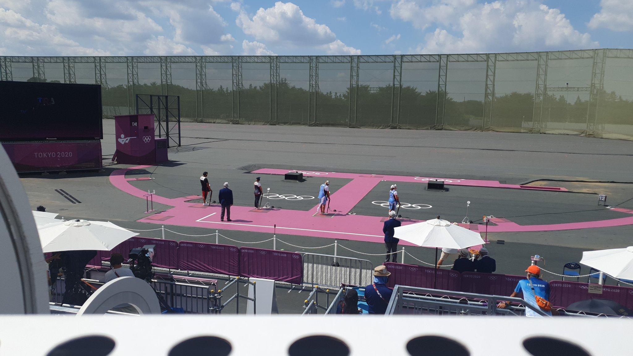 Asaka acoge la final de tiro de los Juegos de Tokio.