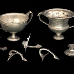 Image for the Tweet beginning: This hoard of #Roman silver