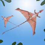 Image for the Tweet beginning: This amazing little lizard, Sharovipteryx,