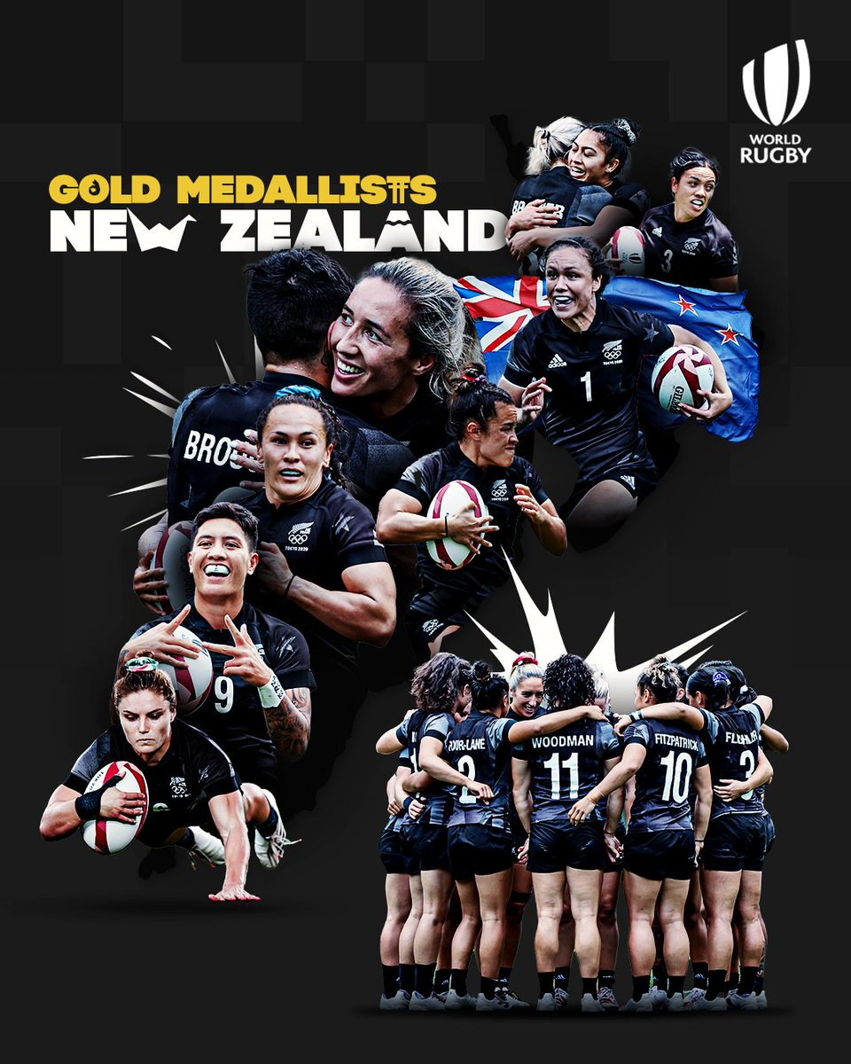 The @BlackFerns now hold EVERY ... yes EVERY title in the women's game in both 7s and 15s. Simply incredible achievement from all the players and management. And they are hosting the @rugbyworldcup next year .... #sheerdominance https://t.co/flVw6c6pb0