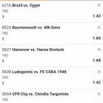 Image for the Tweet beginning: 7 odds banger on @betbiga