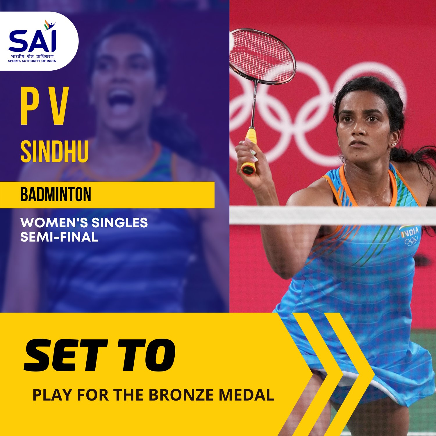 PV Sindhu loses to world number one Tai Tzu-Ying in straight sets in the semi-finals