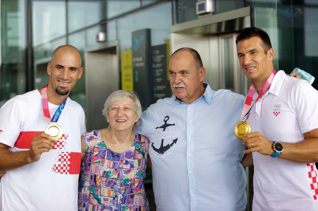 Welcome back, bros! #CRO  #Olympics