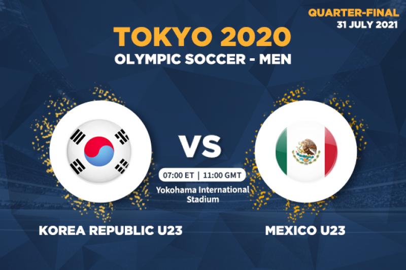 Korea Republic vs Mexico Full Match & Highlights 31 July 2021