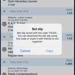 Image for the Tweet beginning: 100+ ODDS ACCA ON 1XBET.