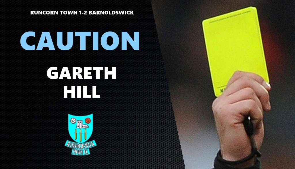 90+2 mins  Yellow card for Barnoldswick's Gareth Hill for a foul on Liam Turner. https://t.co/IKyYcR1vM0