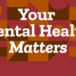 Image for the Tweet beginning: Your mental health matters, and