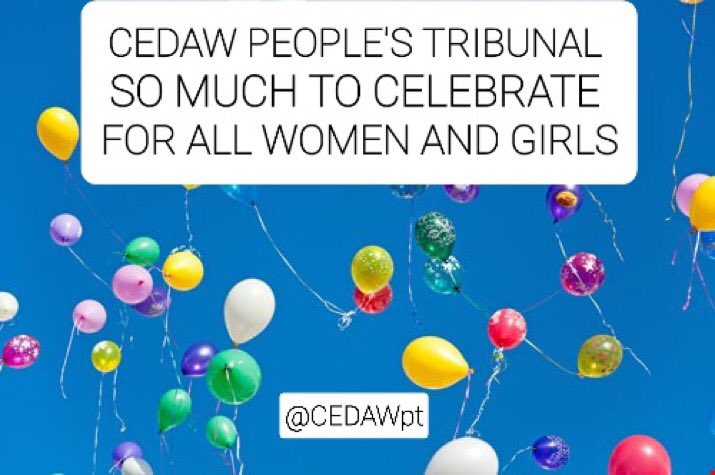 #Olympics #TokyoOlympics2020 🥳💥CELEBRATING 1 year of #CEDAWPeoplesTribunal in the UK🥳💥 #WomensRightsAreHumanRights  #WomensBillOfRights for #Girls #Women in the UK Join us at cedawpt.com