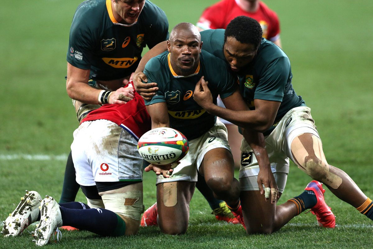 test Twitter Media - 🇿🇦 South Africa draw level 🇿🇦   The Springboks win the 2nd Test 27-9.  All eyes on the series decider…   #LionsRugby | #BoksvLions https://t.co/sZTLSRn4fW