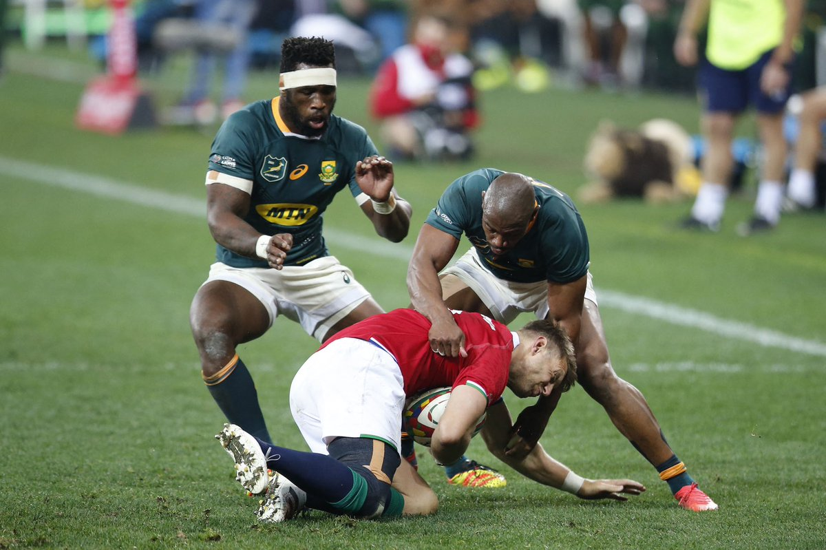 test Twitter Media - 🇿🇦 Never count out a wounded Springbok   This series is going the distance ⚔️   #BoksvLions https://t.co/fbUXAkYaFg