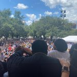 Image for the Tweet beginning: 10,000 people at our rally