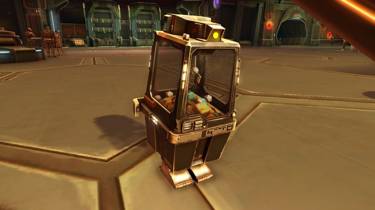 test Twitter Media - The Replica C1-4W mini-pet is one of the new rewards added to the Nar Shaddaa Nightlife event. If you didn't win it yet, it's time to test your luck at the Emperor's Grace Slot Machines on Nar Shaddaa! https://t.co/nqjJ6EokdS