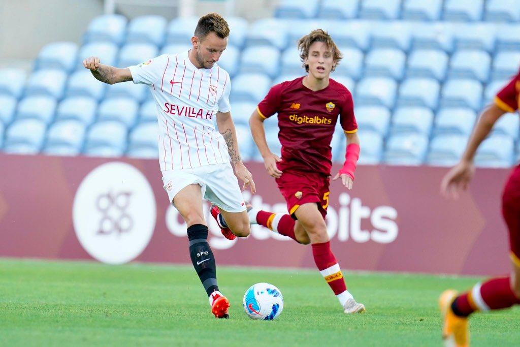 AS Roma vs Sevilla Highlights 31 July 2021