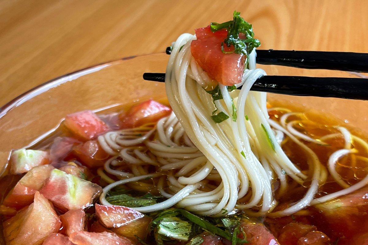 さっぱり美味しそう!トマトやポン酢を使った、素麺のつけだれレシピ!