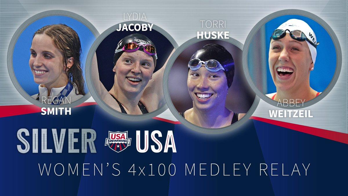 RT <a target='_blank' href='http://twitter.com/USASwimming'>@USASwimming</a>: Silver STARS! 💫🥈  <a target='_blank' href='http://search.twitter.com/search?q=TokyoOlympics'><a target='_blank' href='https://twitter.com/hashtag/TokyoOlympics?src=hash'>#TokyoOlympics</a></a> x <a target='_blank' href='http://twitter.com/TeamUSA'>@TeamUSA</a> <a target='_blank' href='https://t.co/r3sAUqHFCC'>https://t.co/r3sAUqHFCC</a>