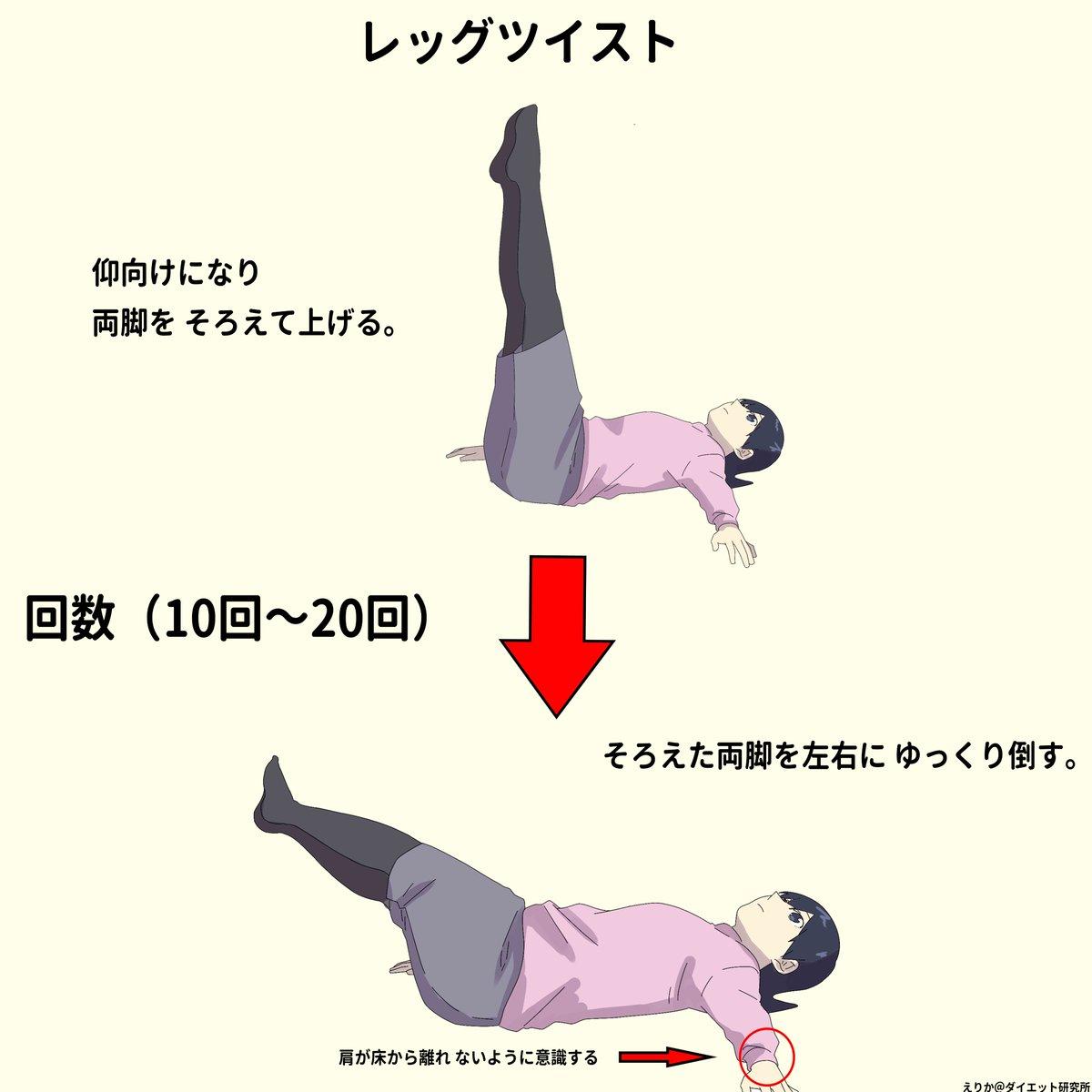 下半身痩せに効果的な腹筋!理想の体型を目指そう!
