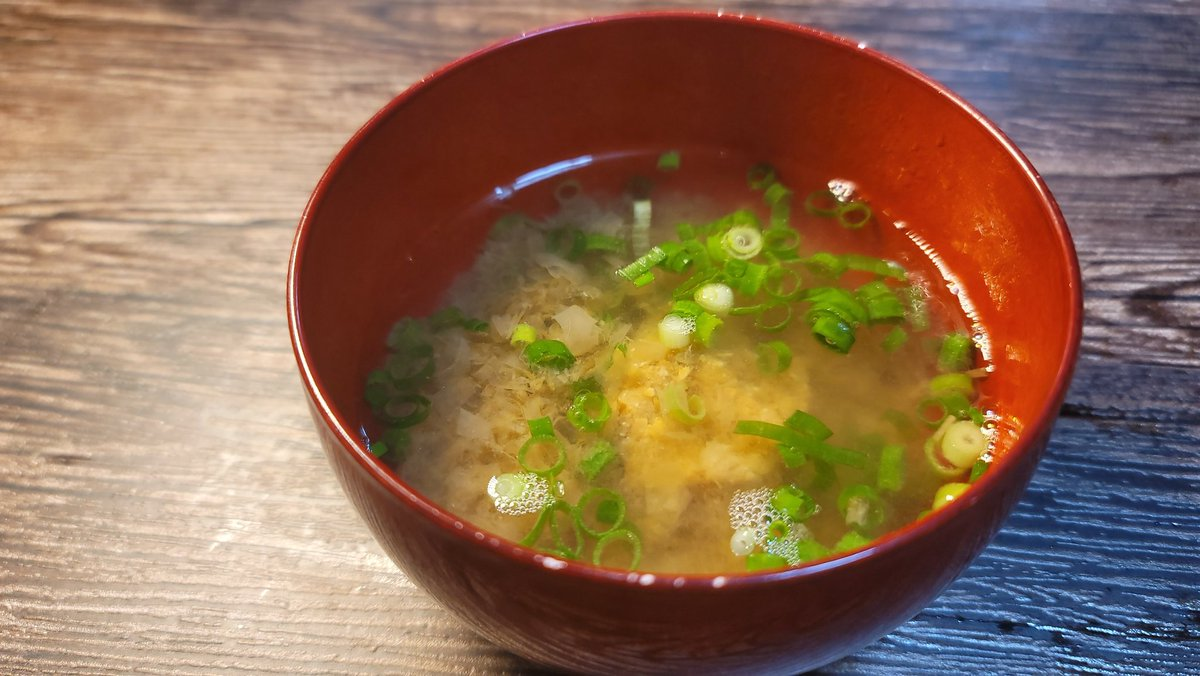 覚えておくと凄く便利そう!とっても簡単な即席味噌汁レシピ!